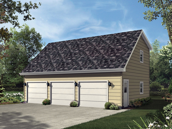 Three garage apartment gable dormer related keywords Saltbox garage plans